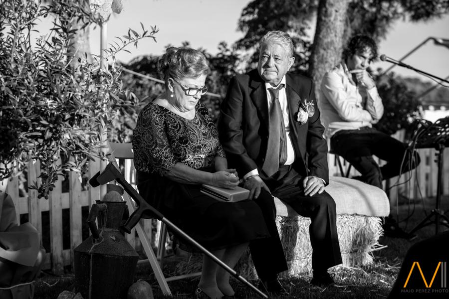 detalles de la boda civil en mas estornell en castellón
