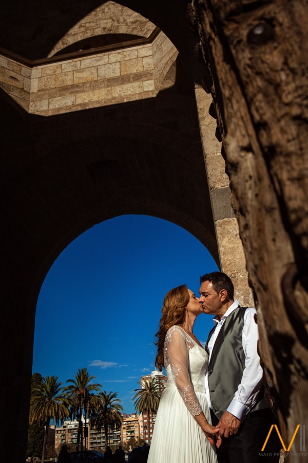 fotografías de postboda torres de serrans valencia